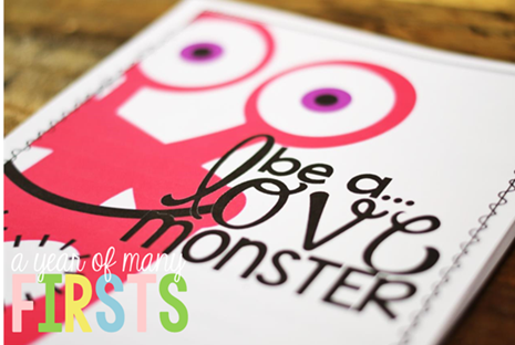 Love Monster Fun– VALENTINE'S DAY!