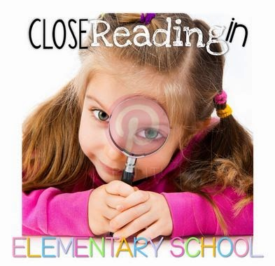 Close Reading Book Study: Chapter 3