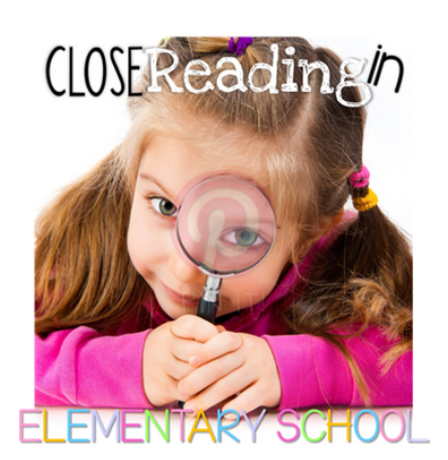 Close Reading Book Study: Chapter 5