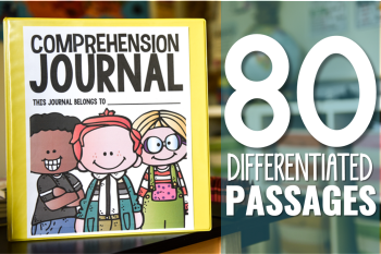 Differentiated Comprehension Journal